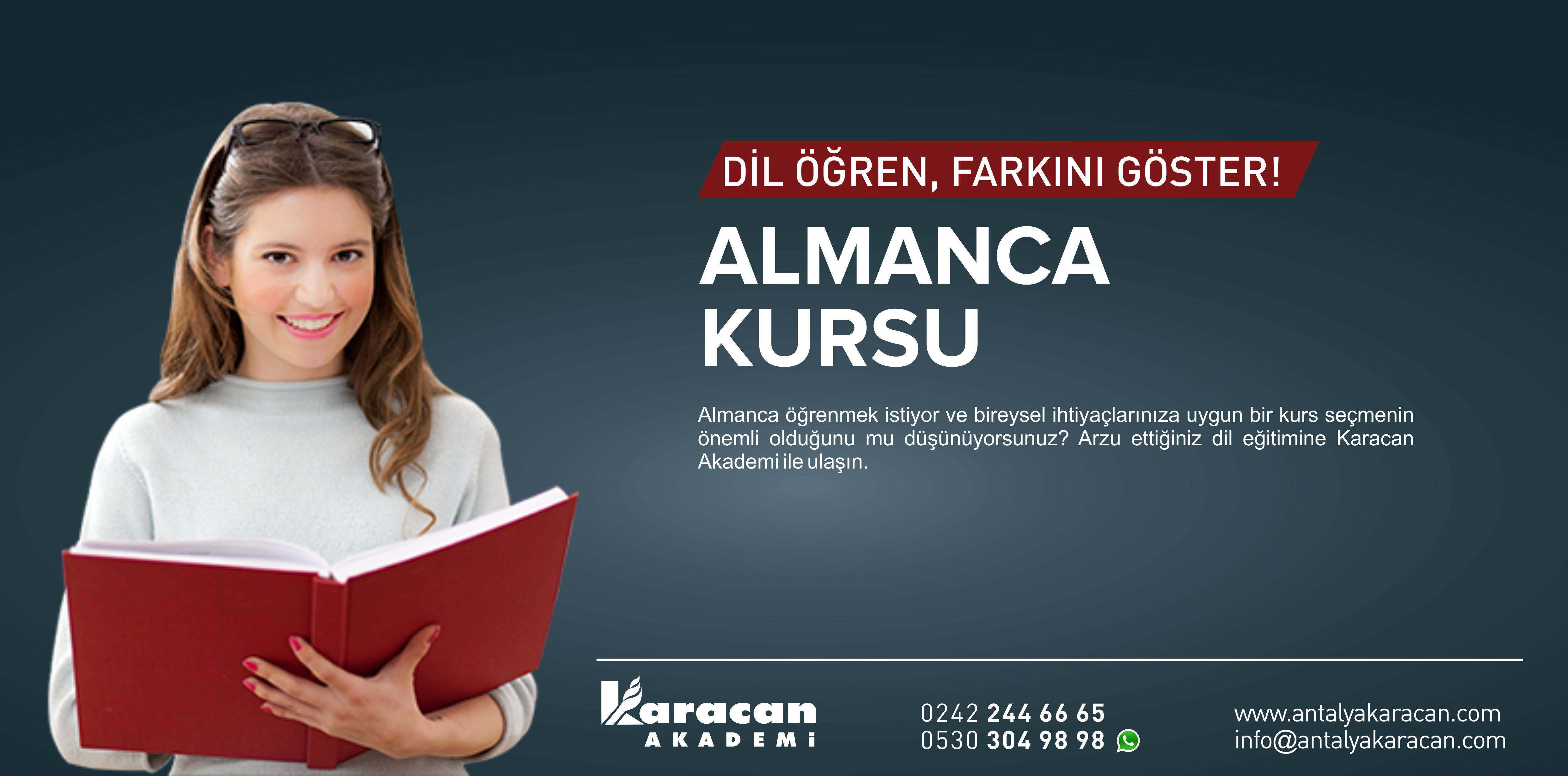 Antalya Almanca Kursu