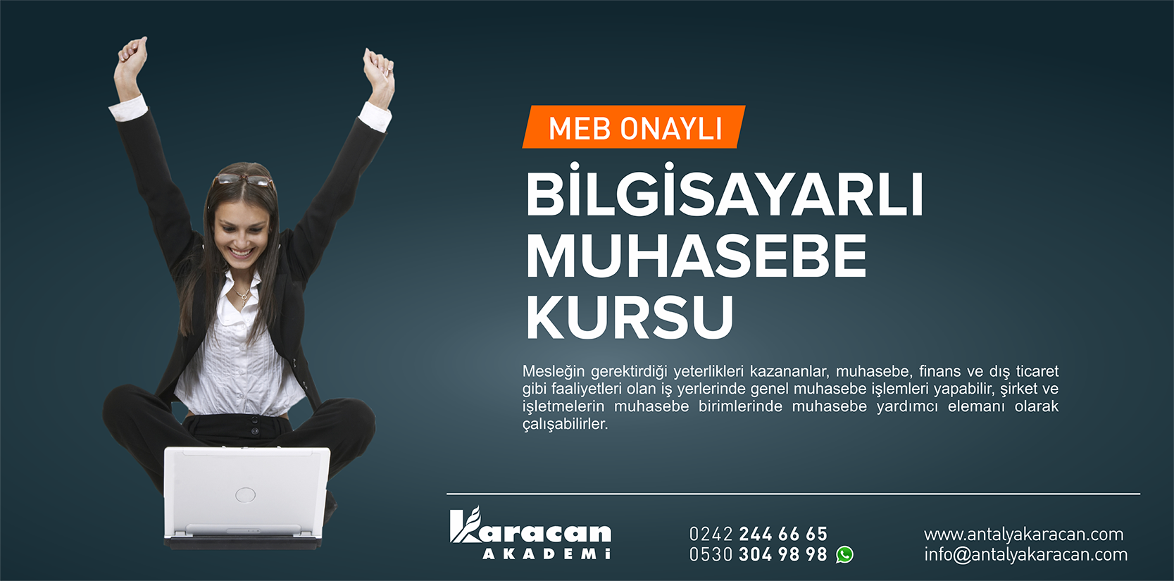 Antalya Bilgisayarlı Muhasebe Kursu