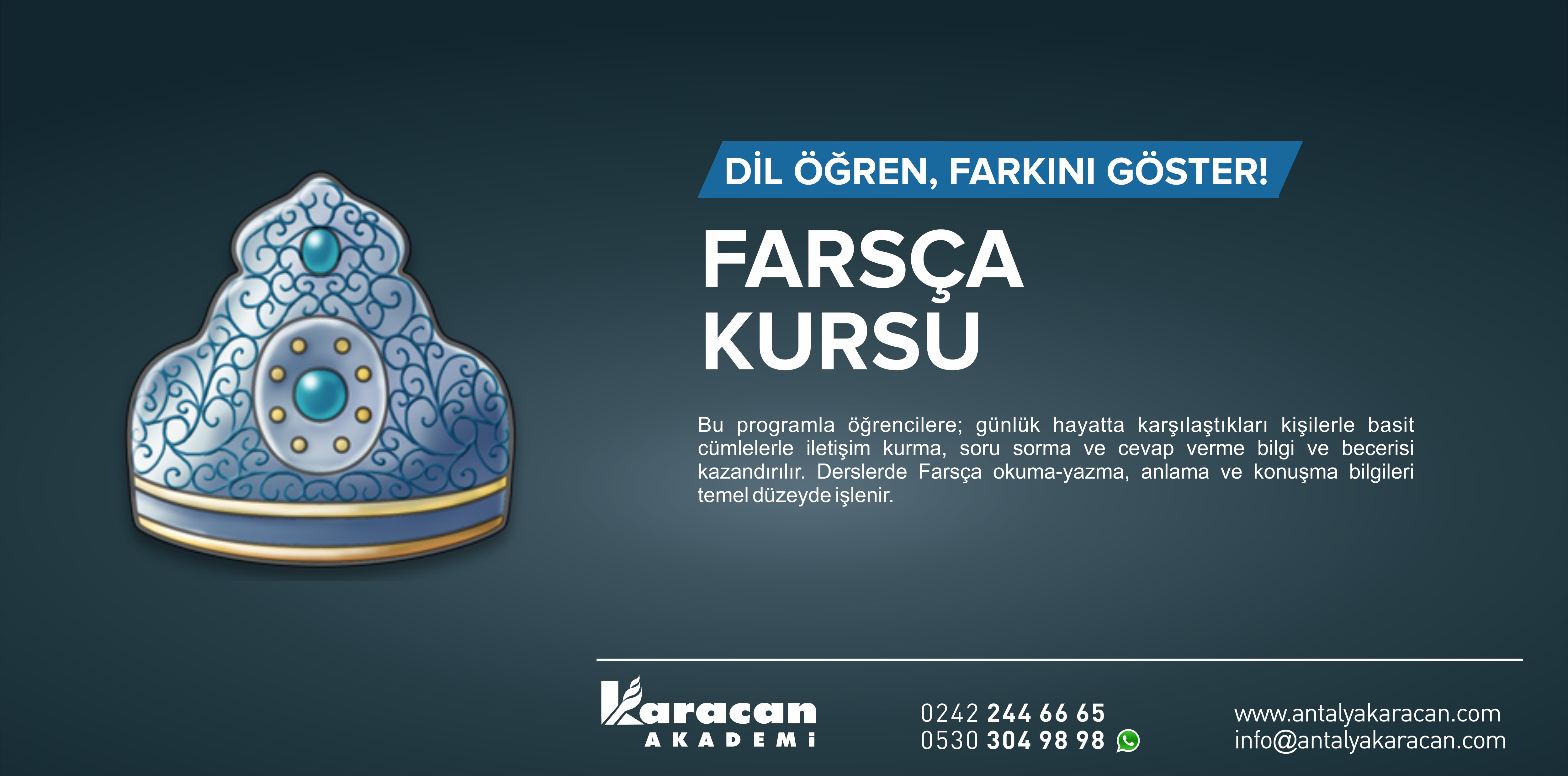 Antalya Farsca Kursu