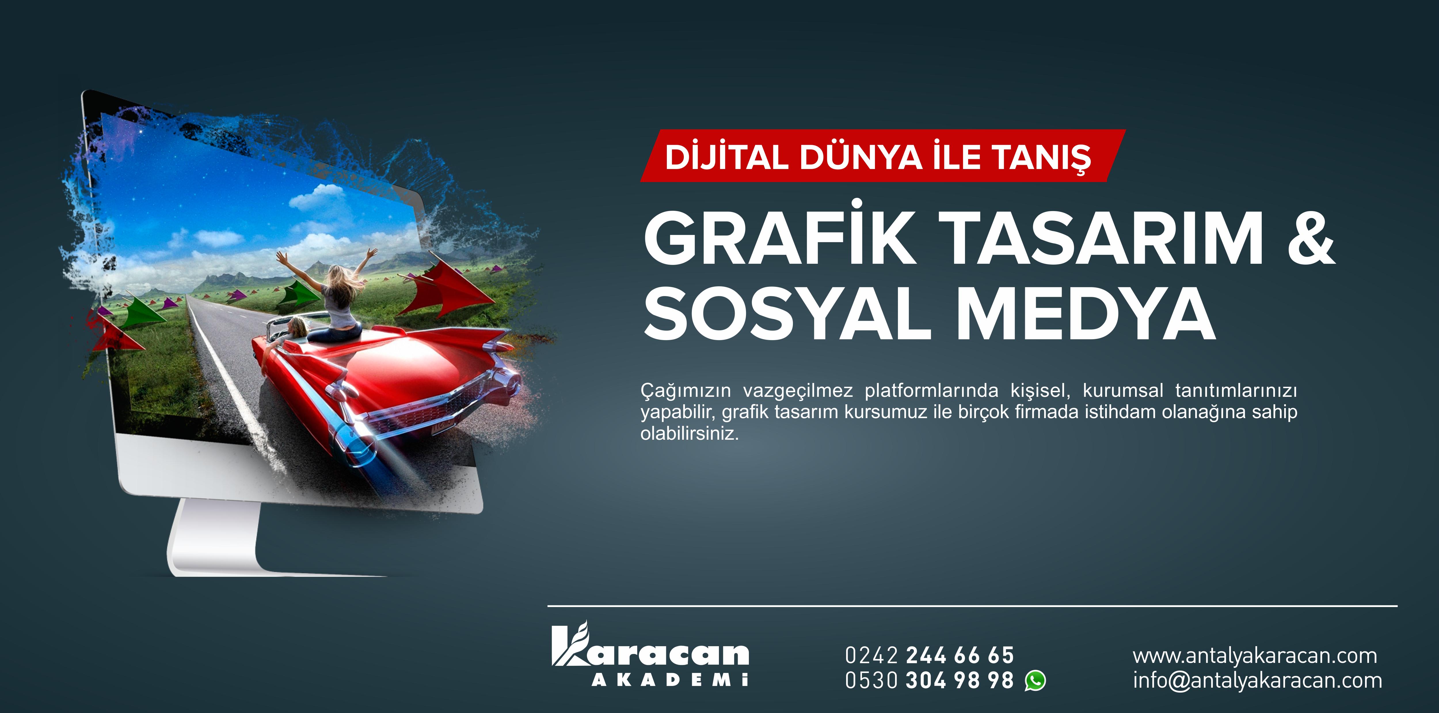 Antalya M.E.B. Onaylı Grafik Tasarım Kursu