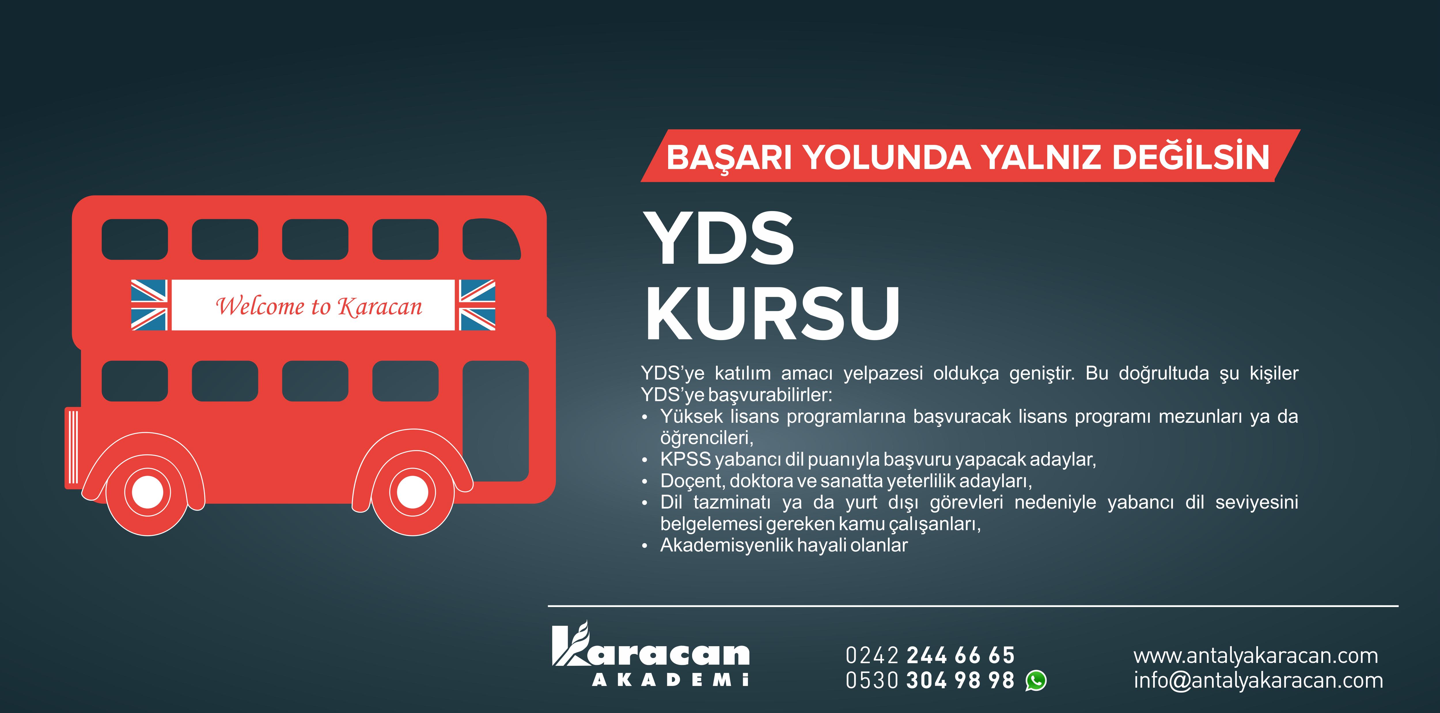 Antalya YDS Kursu (Yabancı Dil Sınavı)