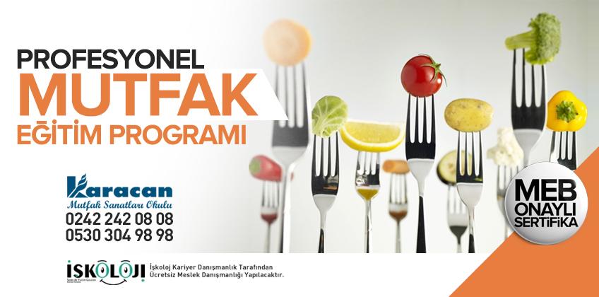 Profesyonel Mutfak Eğitim Programı