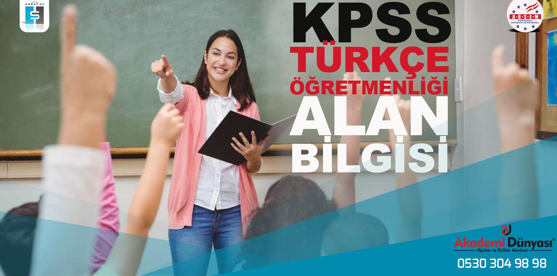 Kpss Türkçe Öğretmenliği Alan Sınavına Hazırlık Kursu