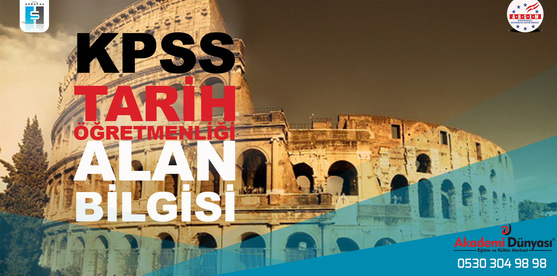 Tarih Öğretmenliği Alan Sınavına Karacan Akademi ile Hazırlanın