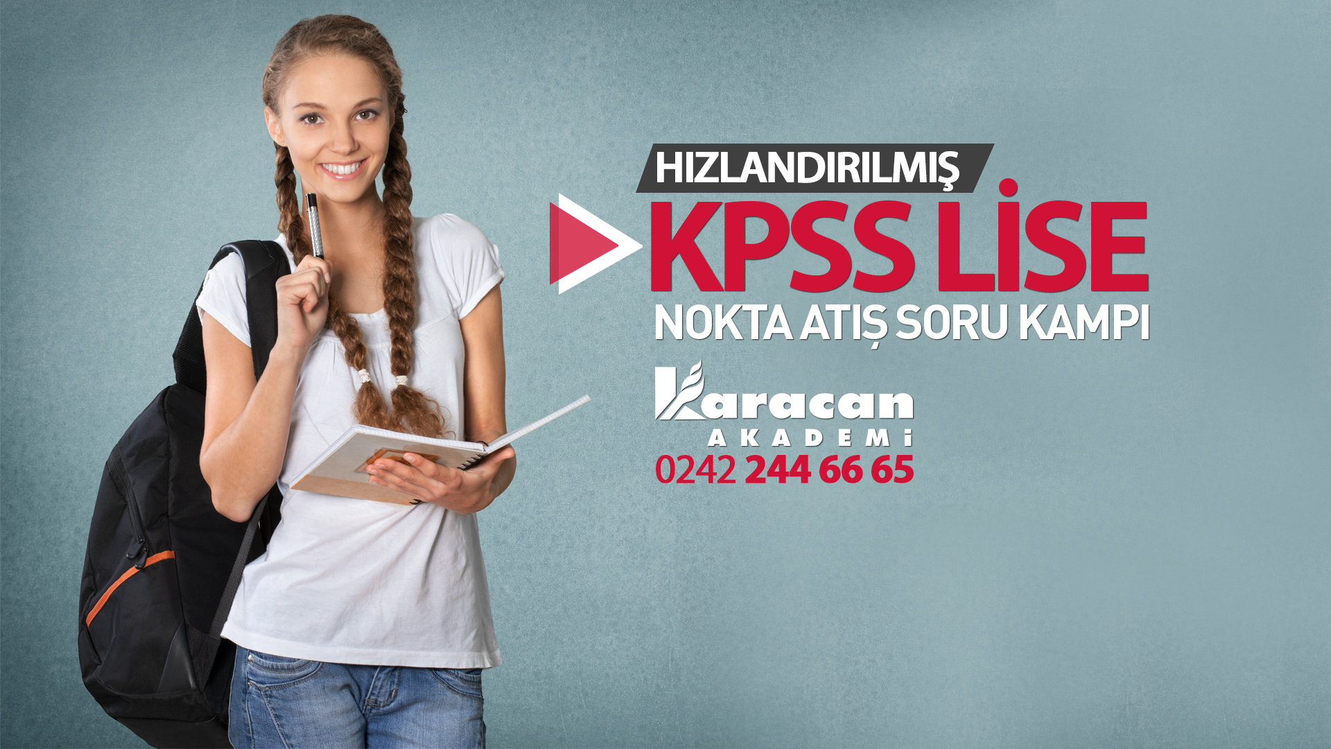 Hizlandirilmis KPSS Lise - Önlisans kurs kayitlari baslamistir.