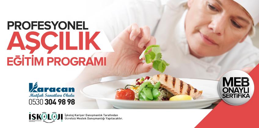 Profesyonel Aşçılık Eğitim Programı