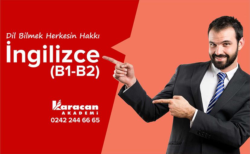 İngilizce Kursu 2. Kur B1-B2