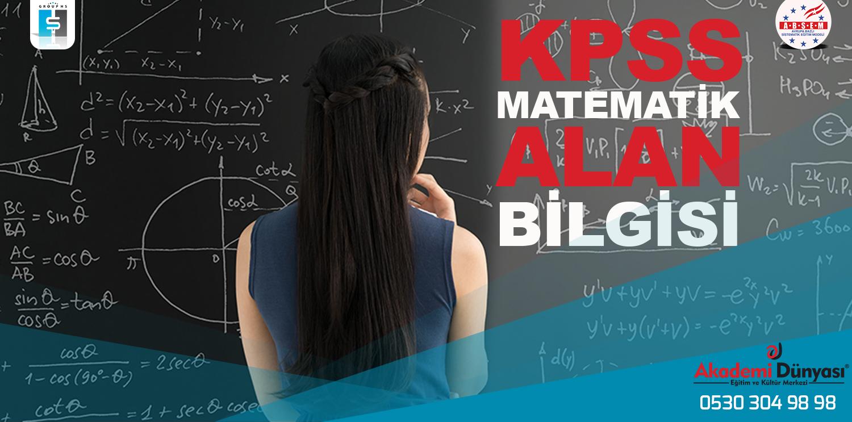 Kpss Matematik Öğretmenliği Alan Sınavına Hazırlık Kursu