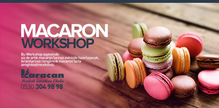 Macaron Workshop 2 Nisan - Cumartesi
