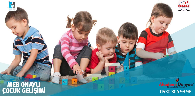 Milli Egitim Bakanligindan Onayli Çocuk Gelisimi Sertifika Programi