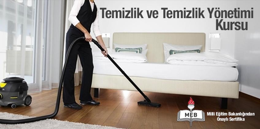 Temizlik ve Temizlik Yönetimi Kursu