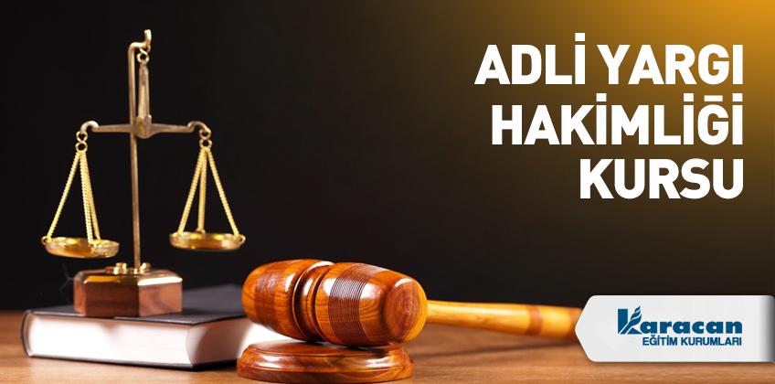 Adli Yargi Hakimligi Kursu
