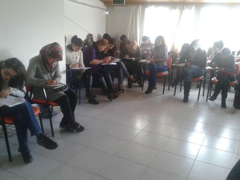 Karacan Akademi-Hasta Kabul İşlemleri Sınavlarından Kareler..
