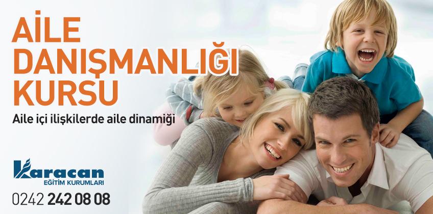 Antalya MEB Sertifikalı Aile Danışmanlığı Kursu
